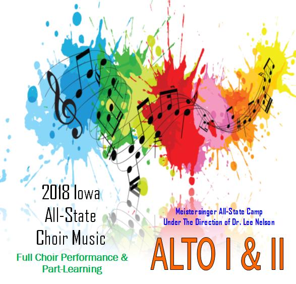 2018 Mp3 of ALTO I&II IA All-State Practice Tracks