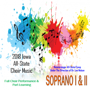 2018 Mp3 of SOPRANO I&II All-State Practice Tracks