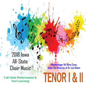 2018 Mp3 of TENOR I&II All-State Practice Tracks